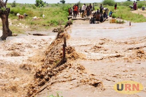 Many Ugandan roads become impassable during the rainy season.