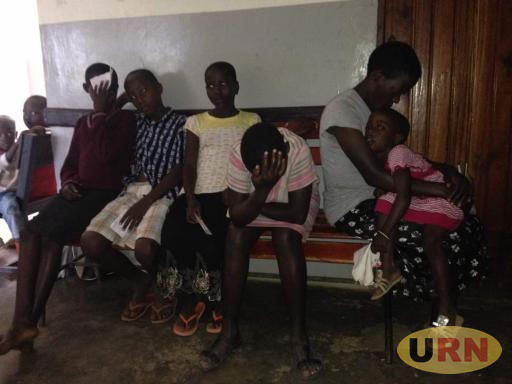 Children in agony stranded at Kiyumba health centre due to lack of malaria drugs