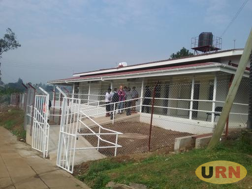 The Ebola isolation and research unit at Fort Portal Regional Referral Hospital