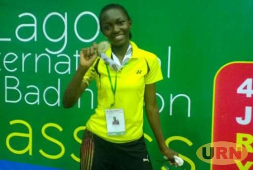 Shamim Bridget Bangi after the 2016 Lagos Open.