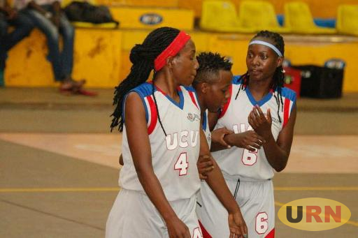 UCU lady canons in a talk during one of the games