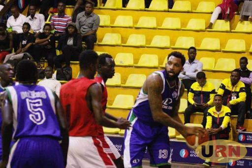 Oilers' Darius Pegus in action during FIBA Zone five in Kampala.