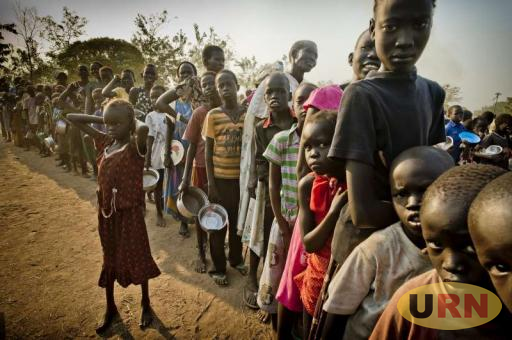 South Suda Refugees. Uganda is now recieving more refugees from DRC than South Sudan