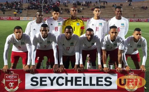 The Seychelles team during the 2016 Castle Lager Cup.