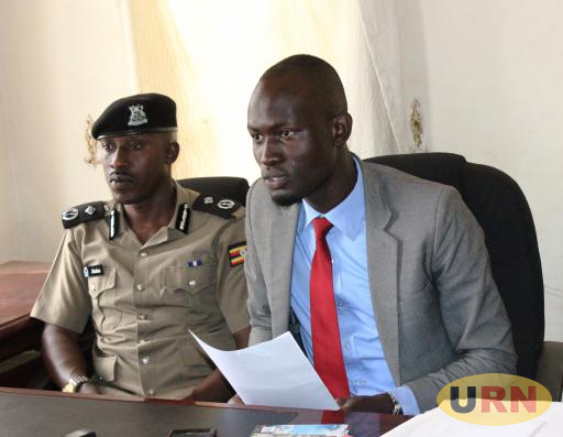 Isaac Kenneth Isabirye, the Makerere Electoral Commission Chairperson and Assistant Commissioner of Police Enock Abeine Makerere Chief Security officer.