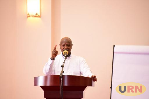 President Museveni says government has created a fund to move people out of wetlands
