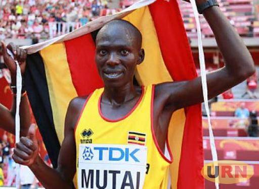 Solomon Munyo Mutai after winning bronze in the 2015 IAAF World Championships in China.