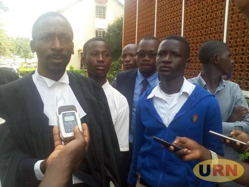 Nkoma Expelled Students with their Lawyer