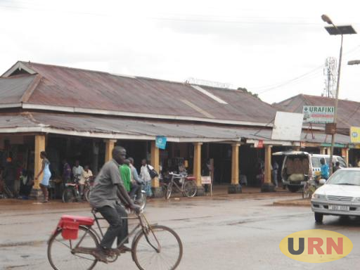 Some of the old structures along Gweri road Soroti Main Street which are too old for business