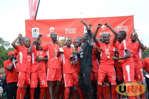 Mbale Tigers U17 Football team won Airtel Rising Stars  2018 Eastern Region championship