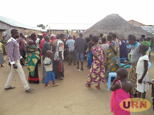 Some of the Agrieved Residents who lost their relatives during the Saturday attack by the Congolese Militiamen.
