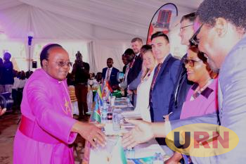 The Archbishop of Kampala Archdiocese, Cyprian Kizito Lwanga presided over the ground breaking ceremony for the new Bible House building.