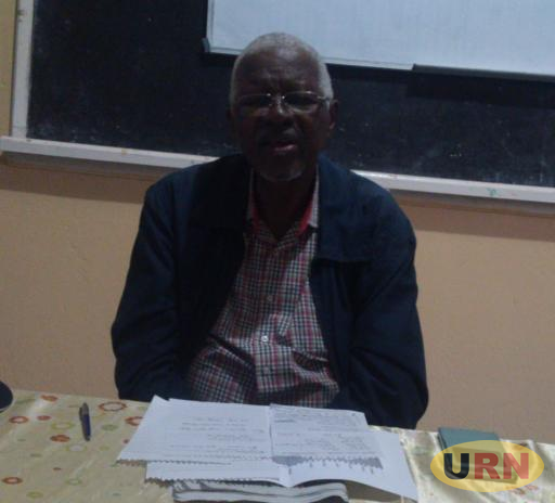 Professor Edward Rugumayo,Chairperson Tooro Elders Forum.