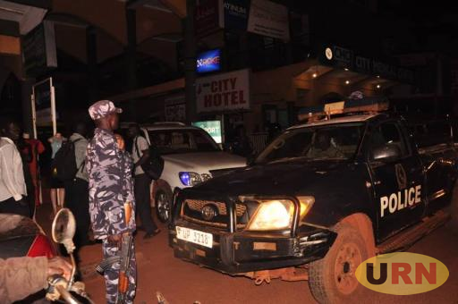 police raided city hotel in jinja where Bobi Wine and his entourage had booked