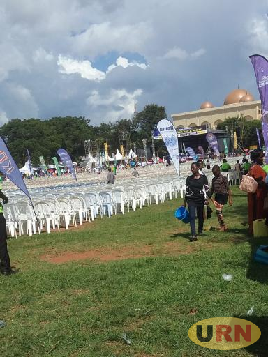 Preparations are still ongoing at Old Kampala Secondary School