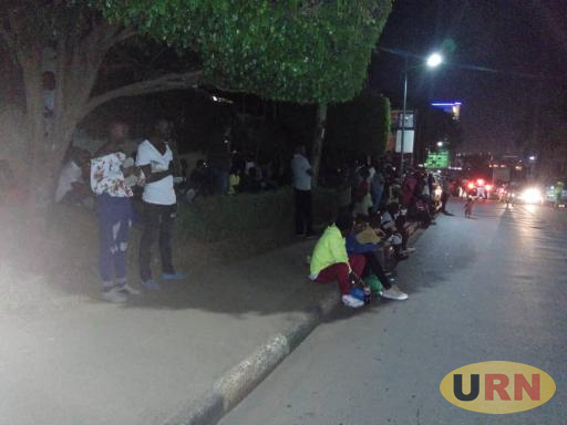 People stranded at Sheraton hotel at the end of 2018 in Kampala.