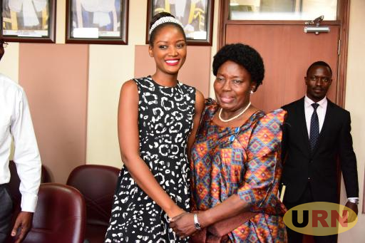 Speaker Kadaga and Abenakyo