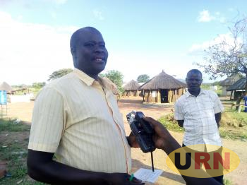 Charles Okwera Obong, the Madi Opei Sub-County LC3 Chairperson in Lamwo district explaining to URN the crisis of cattle theft in the area
