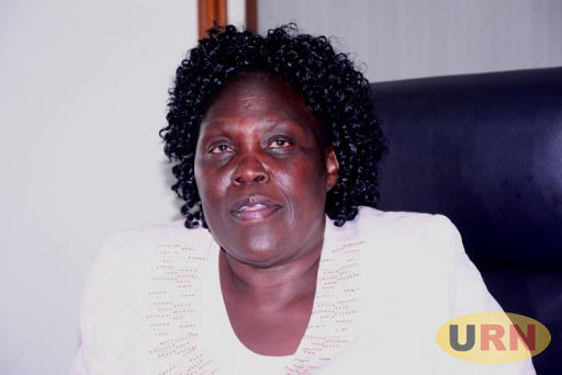 Leader of Opposition Betty Aol Ochan after her meeting with Speaker Rebecca Kadaga over COSASE.