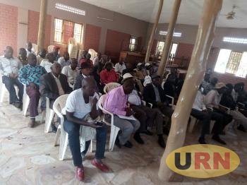Ranchers under the umbrella of Sembabule Cattle Keepers' Association in their meeting in which they resolved to stage a demonstration over quarantine.jpeg