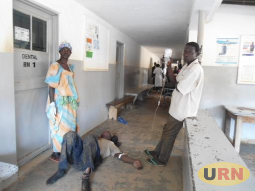 Ordinary people joined the medical workers of Soroti regional referral hospital to help the casualties