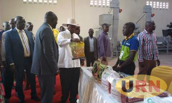 President Museveni Commissioned The Factory Last Week