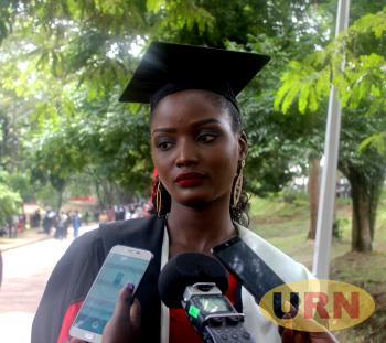 Miss World Africa 2018, Quinn Abenakyo, whose graduation from Makerere has been contested