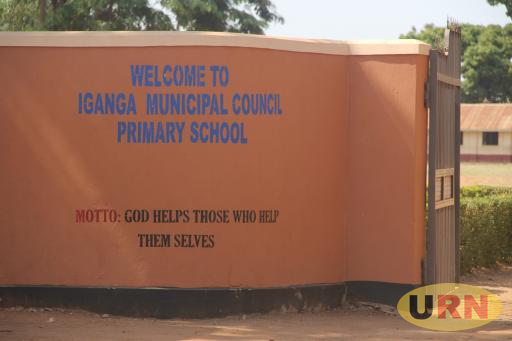 Iganga municipal council primary school.