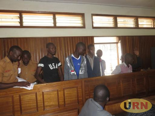 manya students in masaka court dock