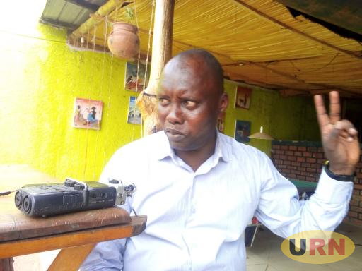 Lamwo Resident District Commissioner James Nabinson Kidega speaking to URN Reporter recently