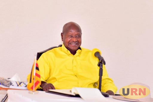 President Yoweri Museveni at the recently concluded Central Executive Committee (CEC) retreat.