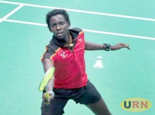 Edwin Ekiring in action in a previous Championship.