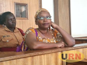 Dr. Stella Nyanzi appearing at Buganda Road Court recently