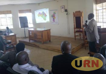Justinian Niwagaba told Kabarole and Fort Portal Municipality leaders that the proposed map of Fort Portal Tourism City is appropriate.
