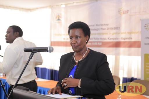 Trade Minister Amelia Kyambadde says sale of alcohol packaged in sachets will be phased out at the end of May